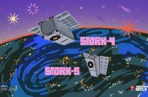 Dwa polskie satelity, które zostały wyniesione na orbitę 30 czerwca 2021 za pomocą rakiety LauncherOne / Credits - Virgin Orbit