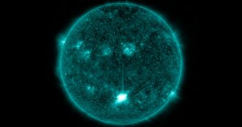 Cztery minuty po fazie maksymalnej rozbłysku z 28 sierpnia 2021 / Credits - NASA, SDO