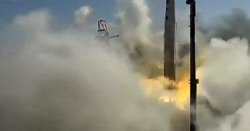 """""""Dziwny start"""" testowy rakiety Astra"""