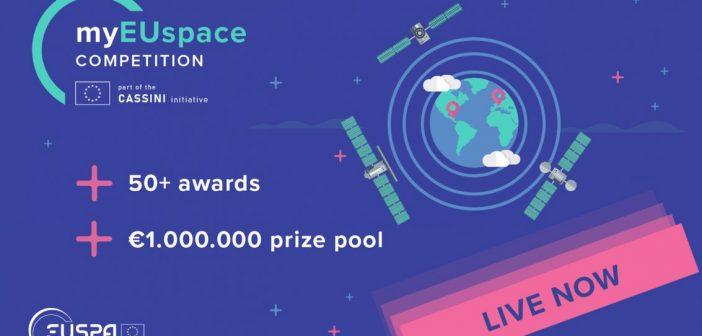 Konkurs #myEUspace / Credits - EUSPA