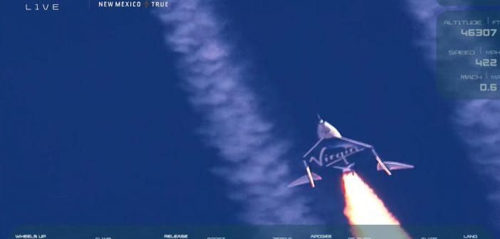 Problemy podczas lotu załogowego SpaceShipTwo?