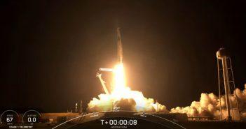 Początek misji Inspiration4 / Credits - SpaceX