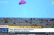 Koniec misji Shenzhou-12 / Credits - CGTN
