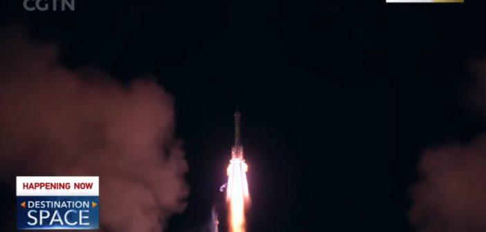 Start misji Shenzhou-13 / Credits - CGTN