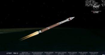 Początek misji Lucy / Credits - NASA TV