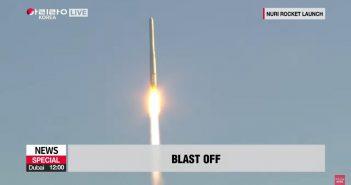 Start rakiety Nuri - 21 października 2021 / Credits - SXNA